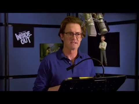 "Pixar's Inside Out: Kyle Maclachlan ""Dad"" Behind the Scenes Voice Recording"