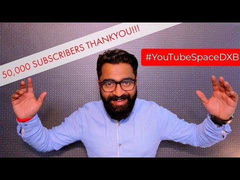Youtube space launch event - Dubai 2018 - Malayalam