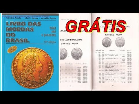 LIVRO DAS MOEDAS GRÁTIS ( catalogo grátis) - YouTube
