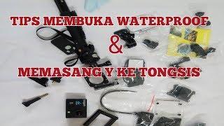 Cara membuka waterproof dan memasang y ke monopod/tongsis