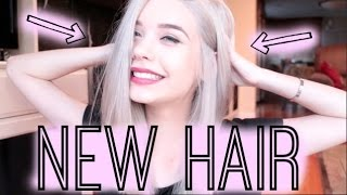 ♡ MY NEW HAIR!! ♡ || Amanda Steele Thumbnail