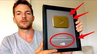 Como Ganhar Seus Primeiros 100.000 Inscritos no YouTube em 12 Passos