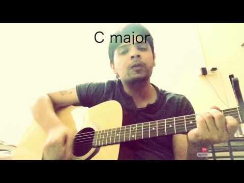 Hamdard- Ek Villain Guitar Chords -Super Easy For Beginners- Capo -Heartbeat Style