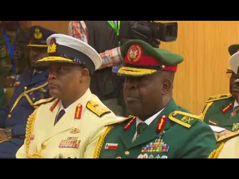 Nigerian Armed Forces Graduation Ceremony 2018