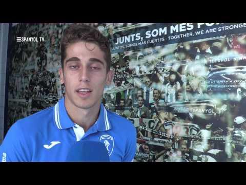 Álex Salto, nou jugador de l'Espanyol B