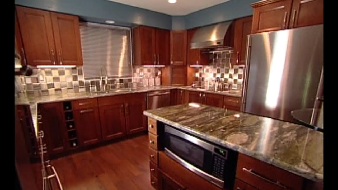 Stainless Steel Backsplash Tile Installation Youtube