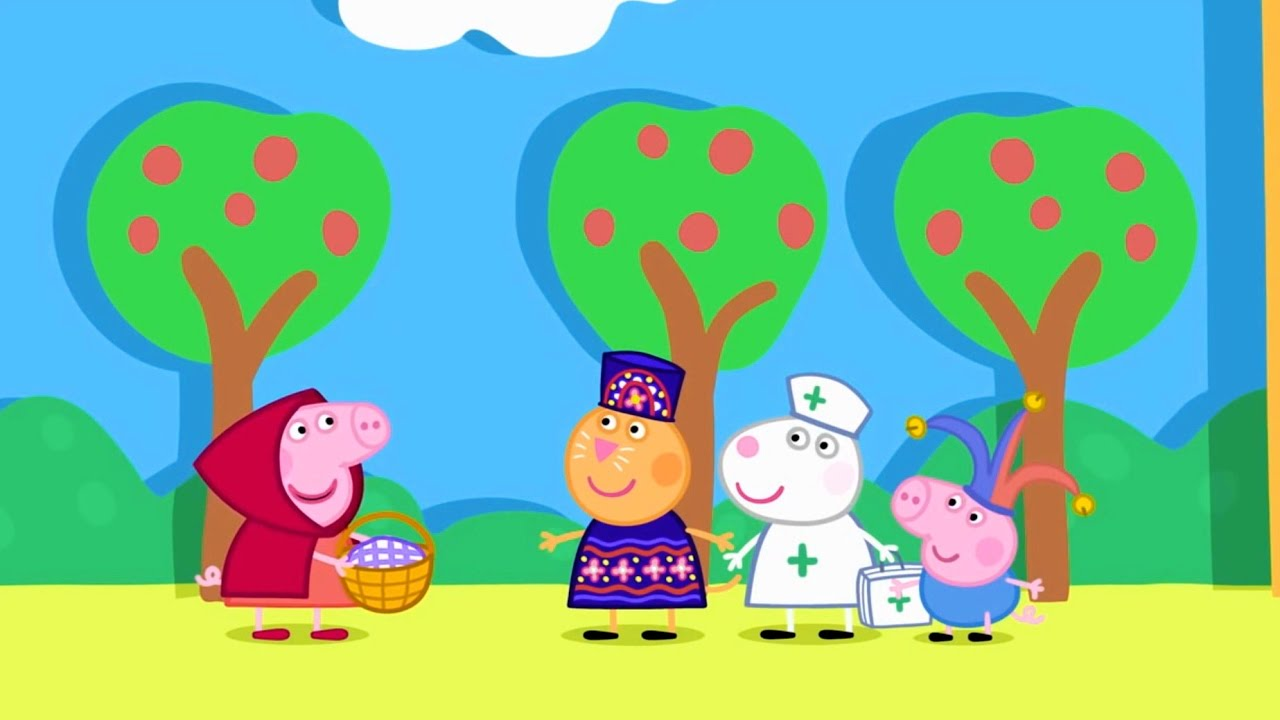Свинка Пеппа все серии подряд 15 минут #25, Peppa Pig Russian episodes 25.