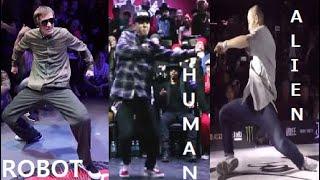 "Robot VS Human VS Alien // Incredible Dance Moves Ver.4 ""Dance Battle Compilations"""