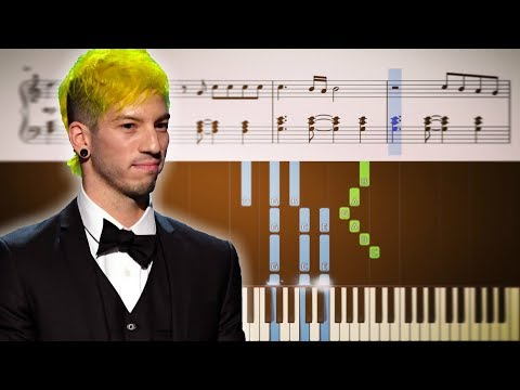 NICO AND THE NINERS twenty one pilots  Piano Tutorial + SHEETS