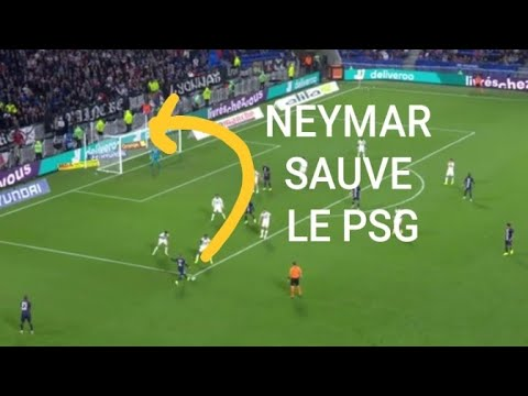 Ol Psg 0 1 Resume Neymar Sauve Le Paris Saint Germain Youtube