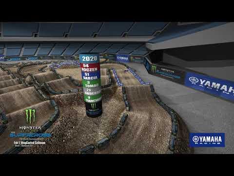 Yamaha Animated Track Map: Oakland 2020