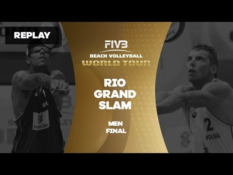 Rio Grand Slam - Men Final - Beach Volleyball World Tour