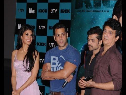 Salman Khan Unveils 'Jumme Ki Raat' Song From 'Kick'