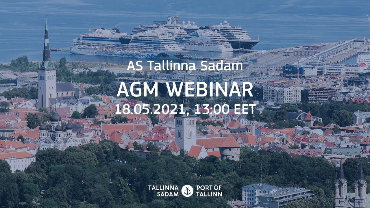 AS Tallinna Sadam AGM webinar