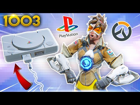 *WTF* Overwatch BUT PS1 LOOKING!? | Overwatch Daily Moments Ep. 1003 (Funny And Random Moments)