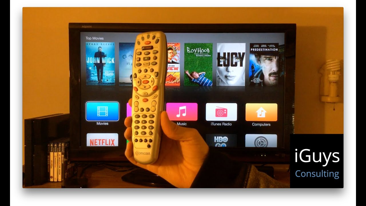 Pair any 3rd Party Remote to Work with AppleTV