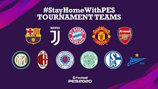 #StayHomeWithPES: Tournament Teams with Antoine Griezmann!