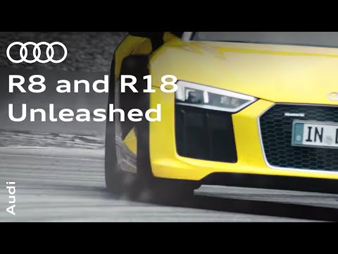 Audi Sport: R8 and R18 unleashed