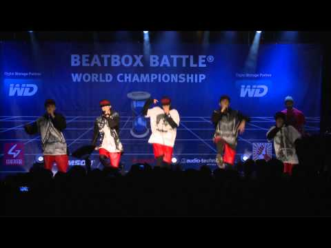 The Rhythm Control Crew - Japan - 4th Beatbox Battle World Championship