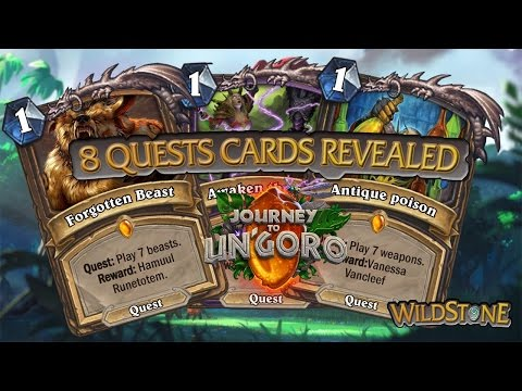 OUR LEGENDARY QUEST CARDS JOURNEY TO UN'GORO [Wild] [Hearthstone]