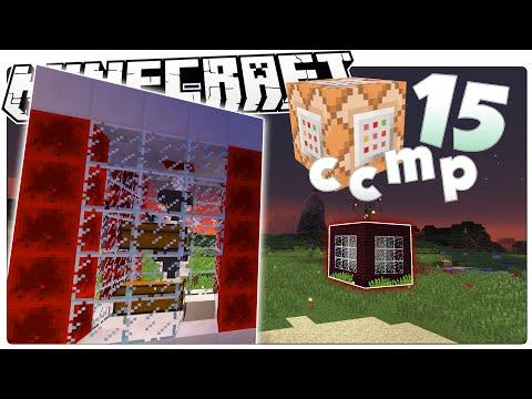Minecraft 1.9 | QUARRY MAKER! | BLAST FURNACE | Industrial Machines | Custom Command Mod Pack #15