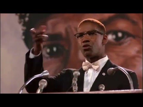 Snub #7 Denzel Washington channels Malcolm X for role in spike lee film