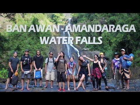 Ban-awan and Amandaraga Waterfalls LAWAAN Eastern Samar