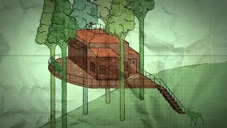 Amazing Plans For A Treehouse 20 Years In The Making