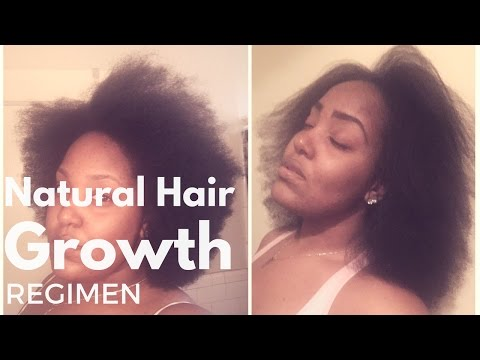 Affordable Natural Hair Regimen + Hair Growth Results