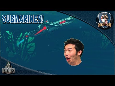 World Of Warships: SUBMARINES Announced!!! Game Play Footage And Break Down