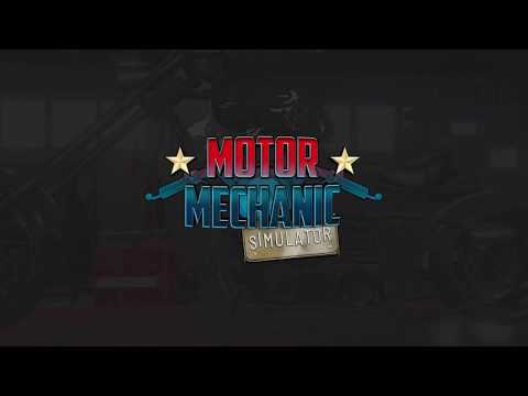 Motor Mechanic Simulator (MMS) - Trailer (Gameplay Elements)
