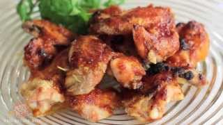Recipe Box - Crispy Baked Hot Wings Recipe!