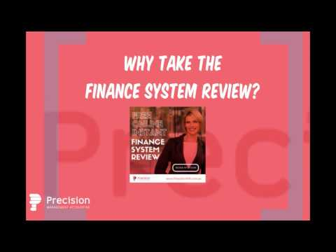 Free Finance System Review by Precision Management Accounting