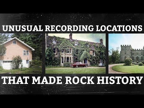 Three Unusual Recording Locations that Made Rock History
