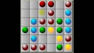 Lines - шарики - техника игры
