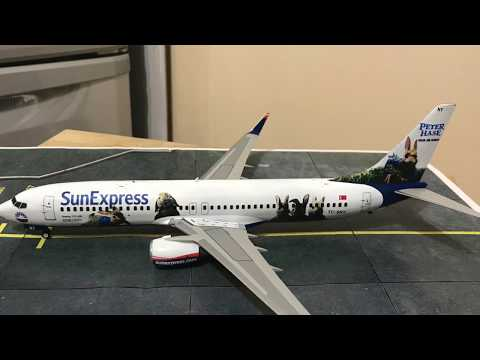 1/144 737-8 Zvezda 737 SunExpress