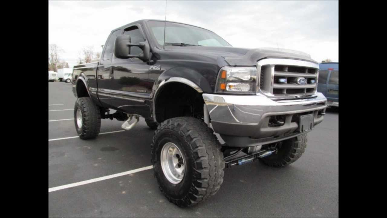 hight resolution of lifted 1999 ford f250 diesel truck for sale