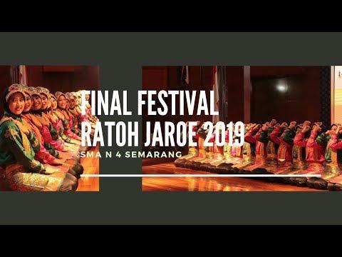 Ratoh Jaroe SMA N 4 Semarang - Festival Ratoh Jaroe Piala Bergilir Gubernur Aceh 2019