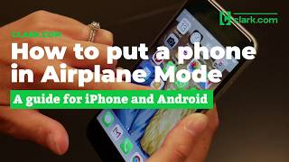 How to put your phone in Airplane Mode