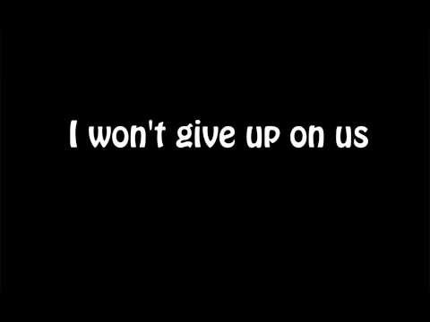 I Won't Give Up  (Video Lyrics)