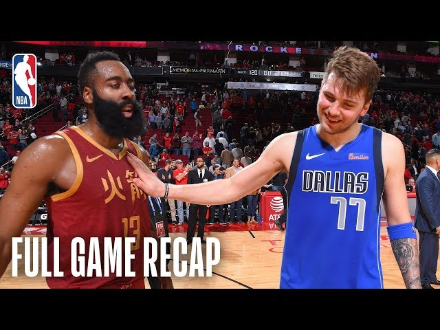 MAVERICKS vs ROCKETS | Harden's 30th Consecutive Game With 30+ Points | February 11, 2019