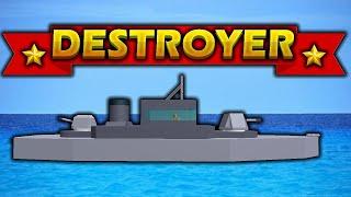 Roblox Noob Team (EUA) vs. pro Team (Japão) [guerra naval]