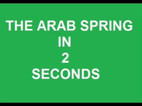 Movie HISTORY COMPLETE ARAB SPRING IN 2 SECONDS REVOLUTION