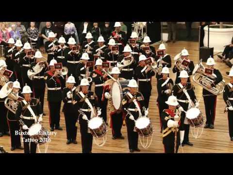 Buxton Military Tattoo 2016 - Massed Bands - Britannic Salute