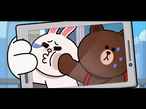 LINE Friends Cony and Brown @ New Year.New World - Hong Kong Countdown Celebrations