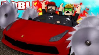 DESTROYING CARS FOR FUN in ROBLOX CAR CRUSHERS 2
