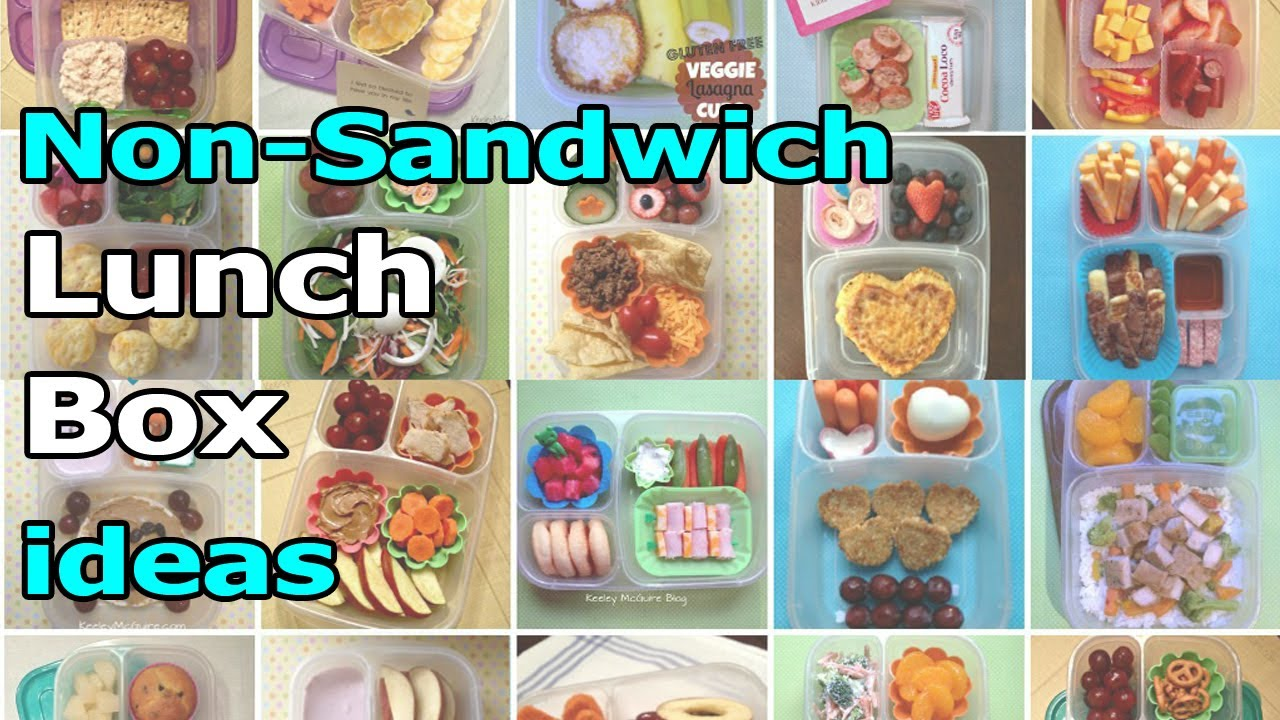 easy lunchboxes 20 non sandwich lunch box ideas for school or work