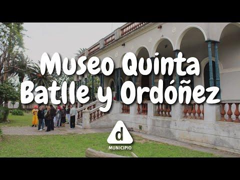 Descubrí tu patrimonio - Museo Quinta de Batlle y Ordóñez