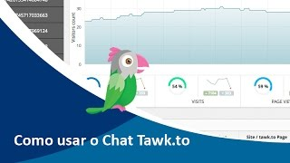 Como usar o Chat on-line Tawk.to