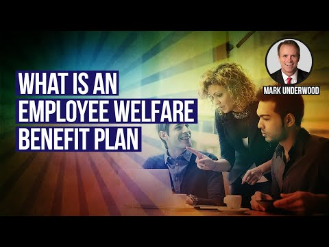 What is an employee welfare benefit plan?